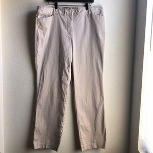 🌵Venezia Khaki Straight Leg Pants Size 20 Tall